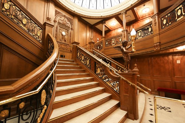 Exact-Scale Grand Staircase Replica