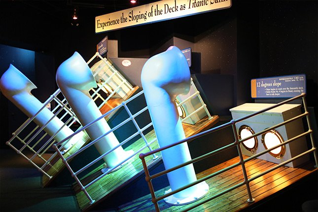 Sloping Decks Interactive Exhibit