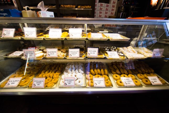 Great Selection of Fresh Donuts
