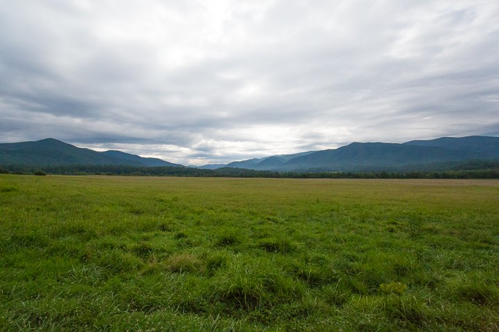 National Park Cades Cove - Cades Cove Loop: A Scenic Mountain Valley Drive - Original Photo