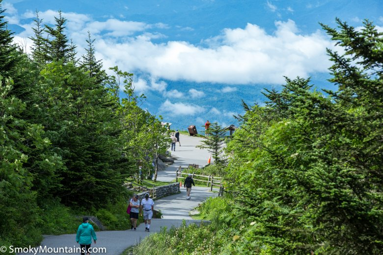 National Park Things To Do - Clingmans Dome: Highest Point in Tennessee - Original Photo