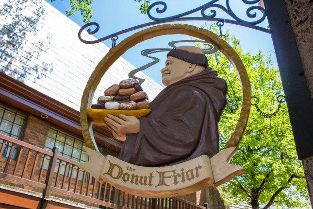 Gatlinburg Restaurants - The Donut Friar - Original Photo