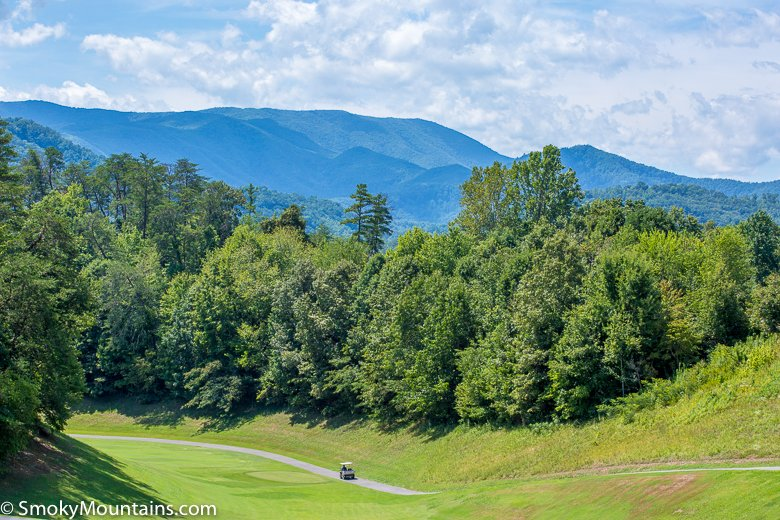 Pigeon Forge Things To Do - Gatlinburg Golf Course with Breathtaking Views - Original Photo