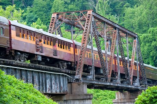 Great Smoky Mountain Railway Bridge