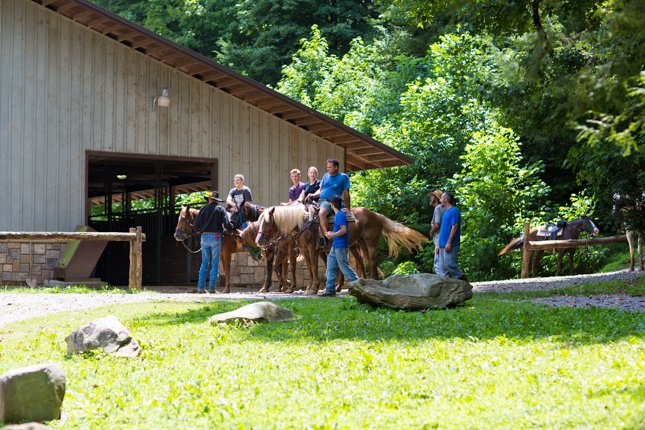 National Park Things To Do - Sugarland Riding Stables: A Relaxing Wilderness Experience - Original Photo