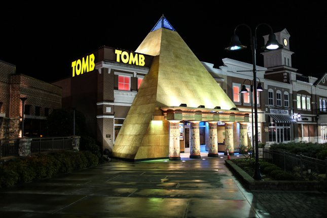 The Tomb Pigeon Forge