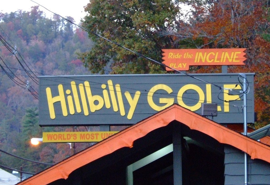 Gatlinburg Things To Do - Hillbilly Golf Gatlinburg - Original Photo