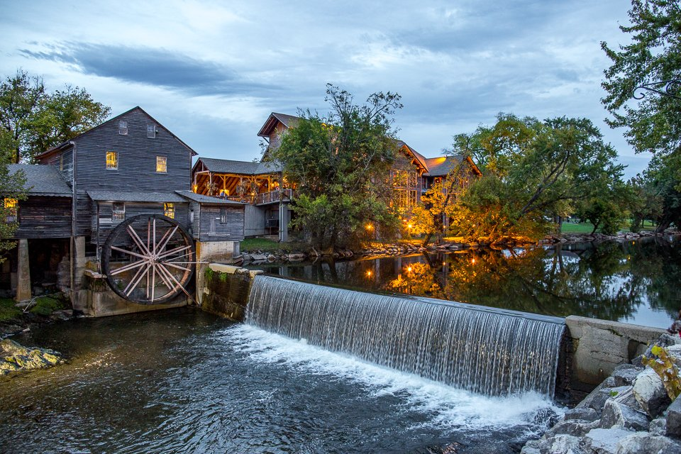 Pigeon Forge Restaurants The Old Mill Restaurant Original Photo