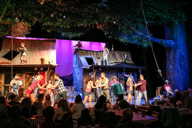 Pigeon Forge Things To Do - Hatfield & McCoy Dinner Show - Original Photo