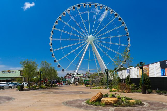 Pigeon Forge Things To Do - Great Smoky Mountain Wheel - Original Photo