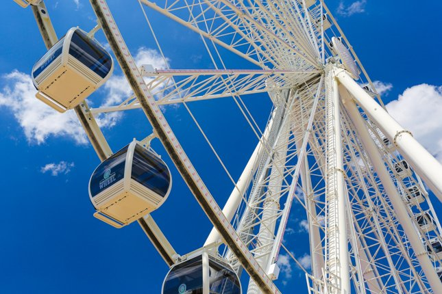 Great Smoky Mountain Wheel – Pigeon Forge Tourist Map