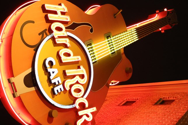 Hard Rock Cafe Gatlinburg Review With Menu Photos Prices - Map of hard rock cafes in the us