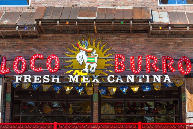 Gatlinburg Restaurants - Loco Burro Gatlinburg - Original Photo