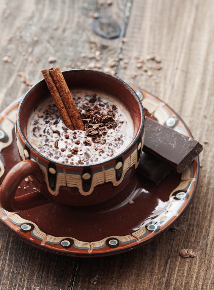 Hot cocoa from an angel