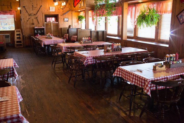 Rustic Interior at Bennett's Pigeon Forge