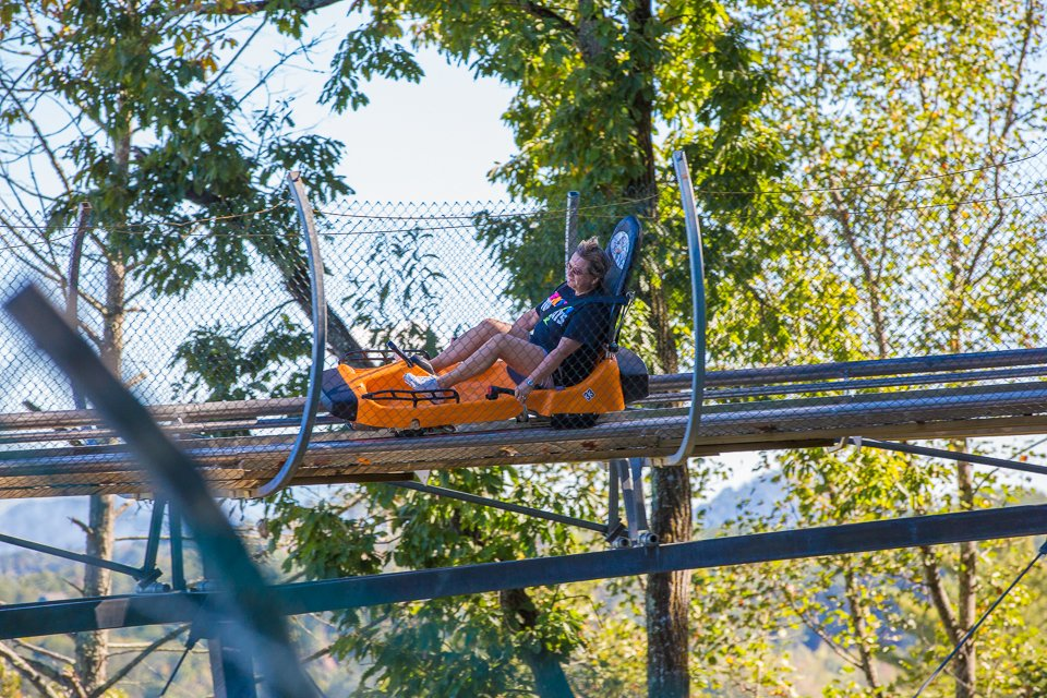 Pigeon Forge Things To Do - Smoky Mountain Alpine Coaster - Original Photo