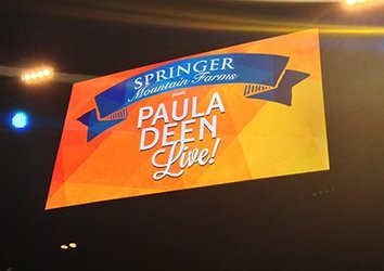 Paula Deen LIVE: There's Butter In The Air