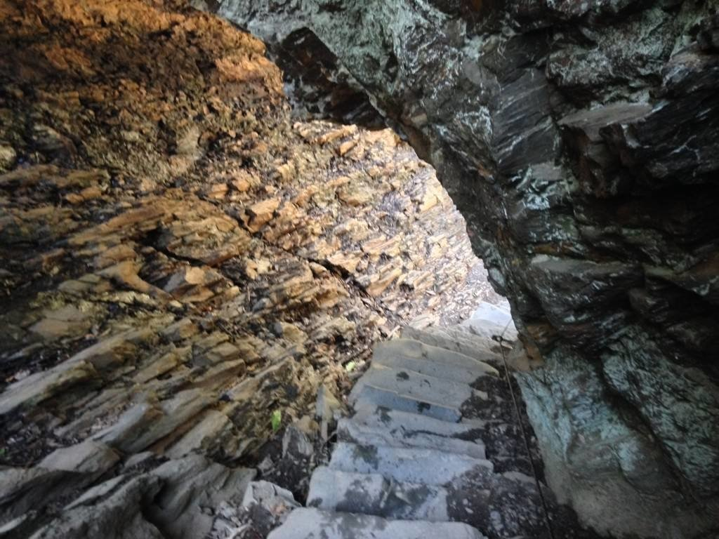 Arch Rock on Alum Cave Trail