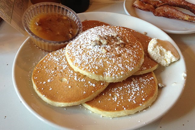 Valentines Day breakfast at Pancake Pantry