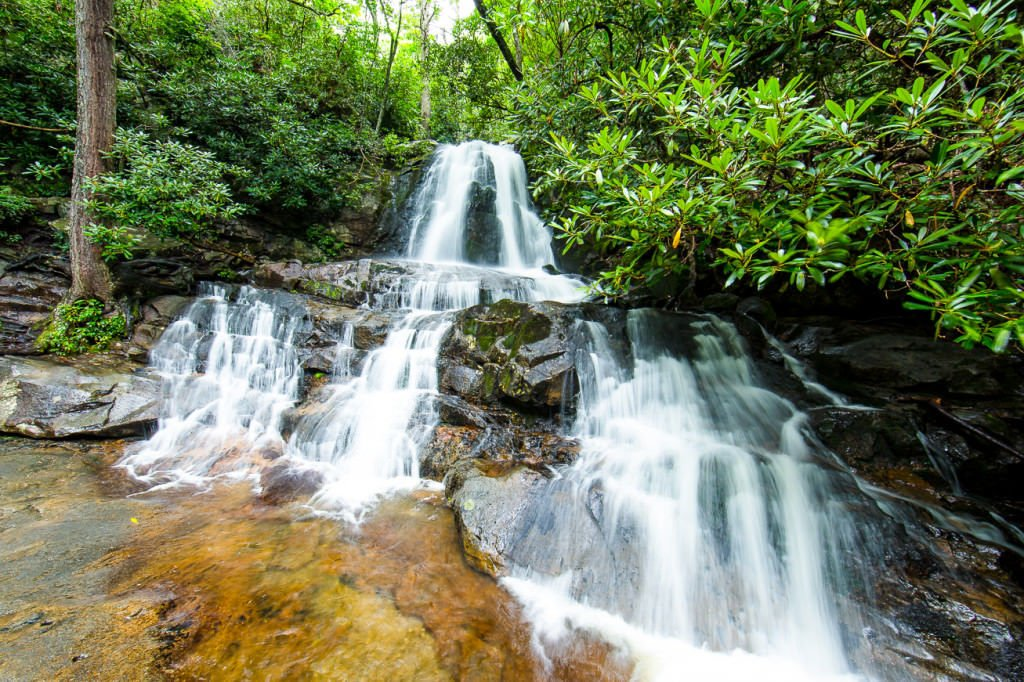Laurel-Falls-Smoky-Mountains