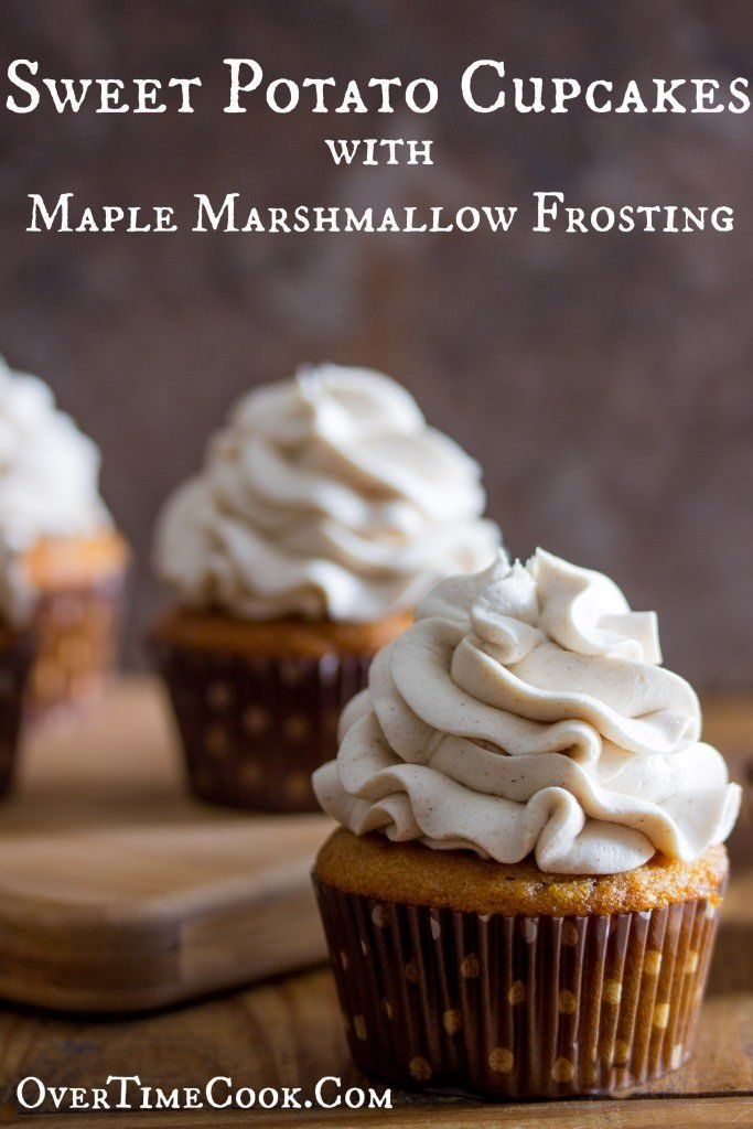 sweet-potato-cupcakes-with-maple-marshmallow-frosting-on-overtimecook