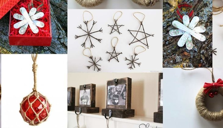 7 Rustic Ornaments To Make At Home This Holiday Season Smokymountains Com