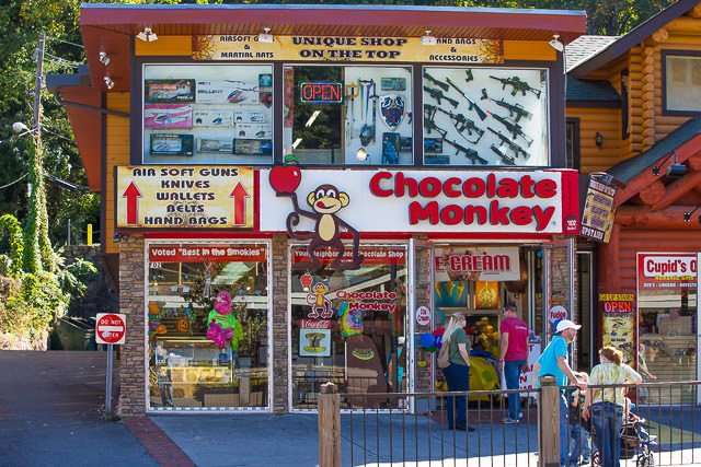 Chocolate-Monkey-Gatlinburg