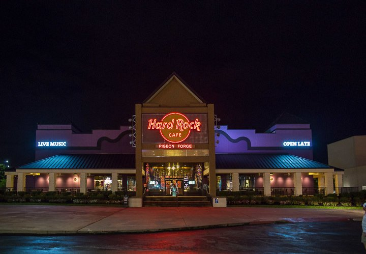 Pigeon Forge Restaurants - Hard Rock Cafe Pigeon Forge - Original Photo