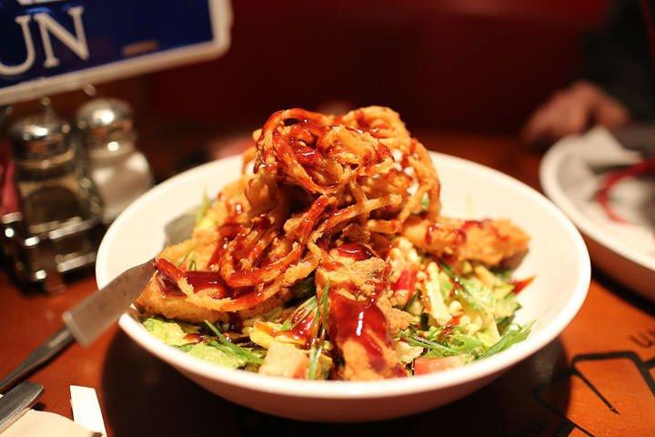 Incredible Salad at Bubba Gump