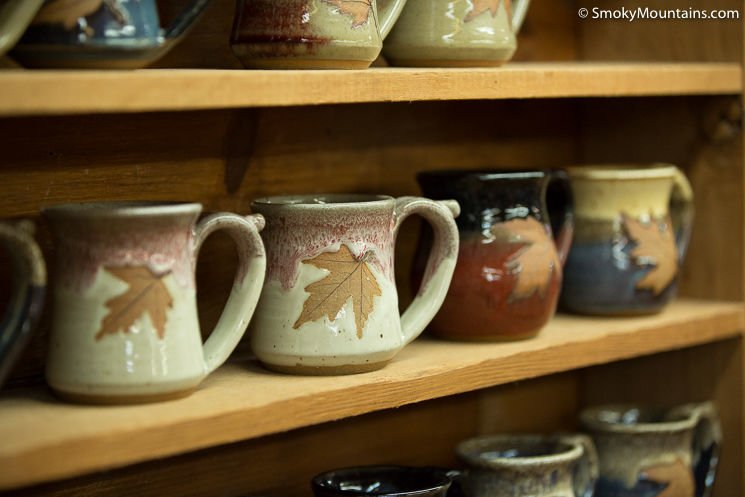 Gatlinburg Things To Do - Alewine Pottery - Original Photo