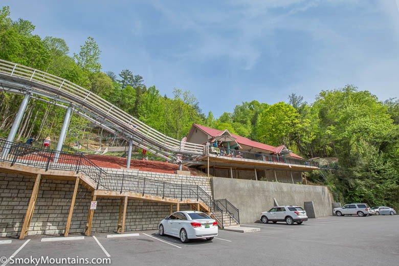 Gatlinburg Mountain Coaster Station