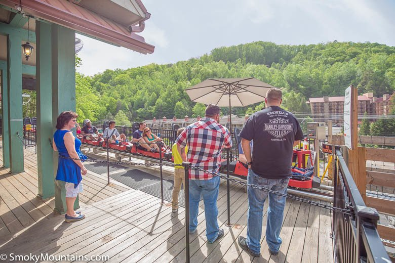 Alpine Coaster in Downtown Gatlinburg