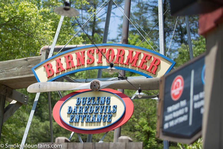 Dollywood Rides - Barnstormer - Original Photo