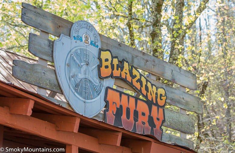 Dollywood Rides - Blazing Fury - Original Photo