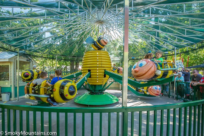 Dollywood Rides - Busy Bees - Original Photo