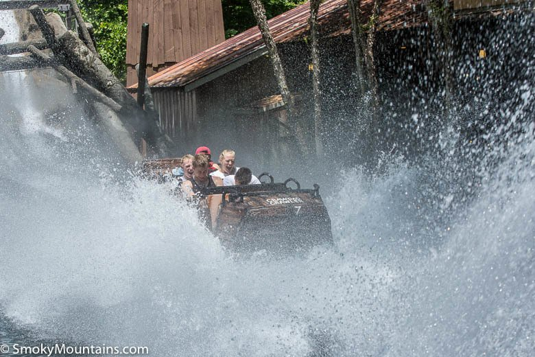 Dollywood Rides - Daredevil Falls - Original Photo