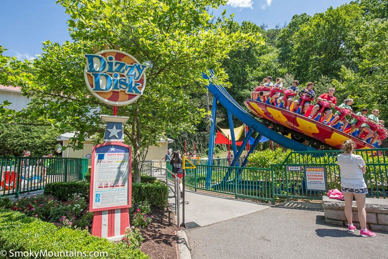 Dollywood Rides - Dizzy Disk - Original Photo