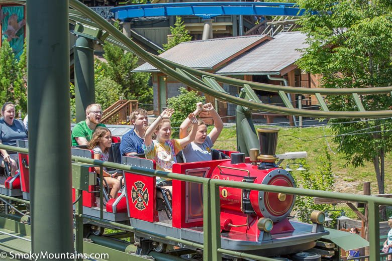 Dollywood Rides - Firechaser Express - Original Photo