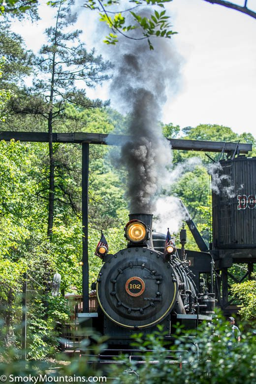 Dollywood Rides - Dollywood Express - Original Photo