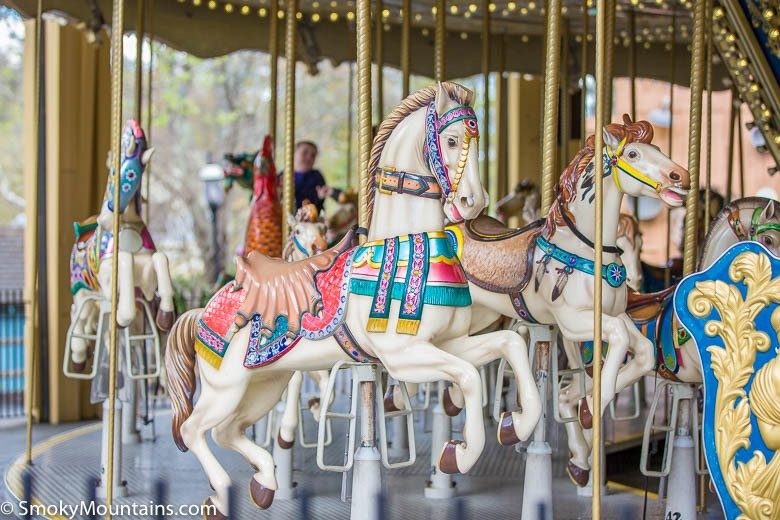 Dollywood Rides - Village Carousel - Original Photo