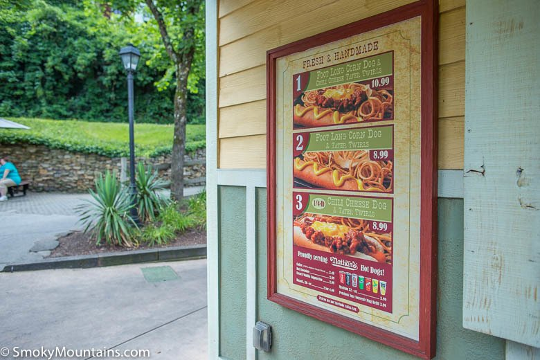 Dollywood Food - Dogs n' Taters - Original Photo