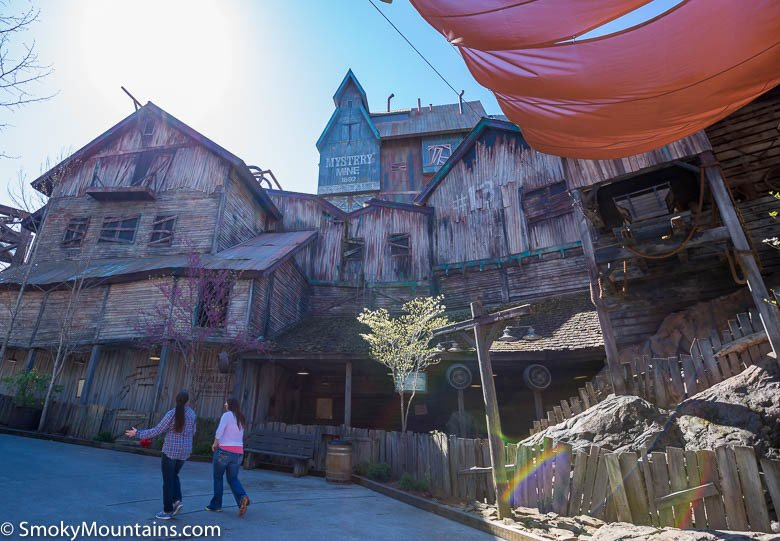 Dollywood Rides - Mystery Mine - Original Photo