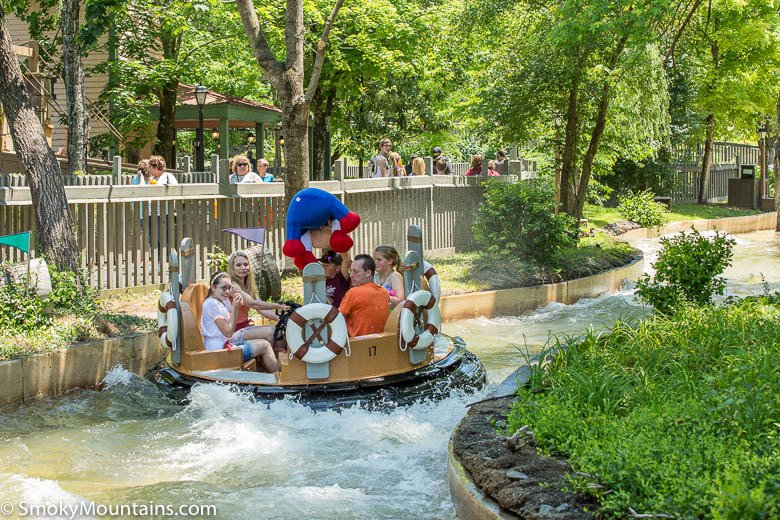 Dollywood Rides - Smoky Mountain River Rampage - Original Photo