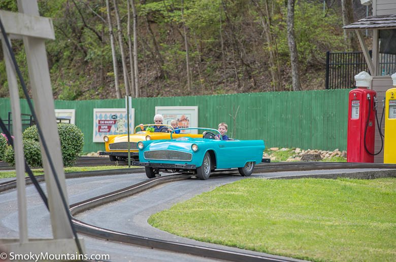 Dollywood Rides - Rockin' Roadway - Original Photo