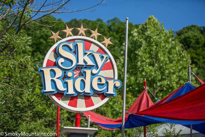 Dollywood Rides - Sky Rider - Original Photo