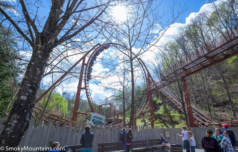 Dollywood Rides - Tennessee Tornado - Original Photo
