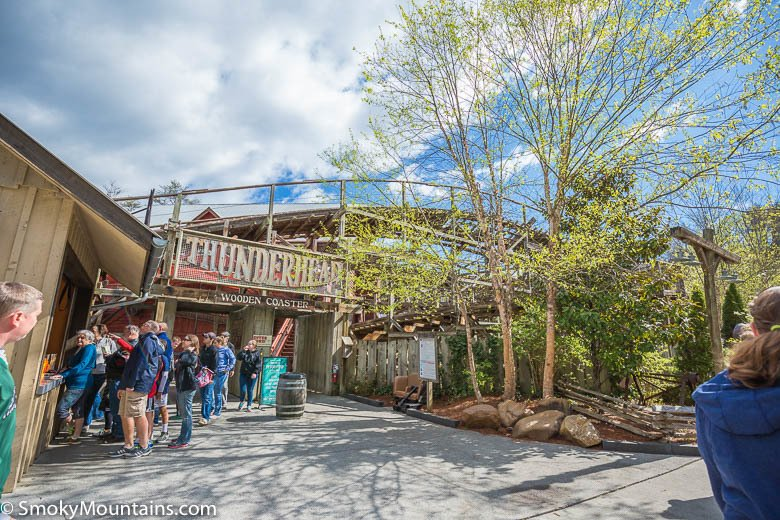 Dollywood Rides - Thunderhead - Original Photo