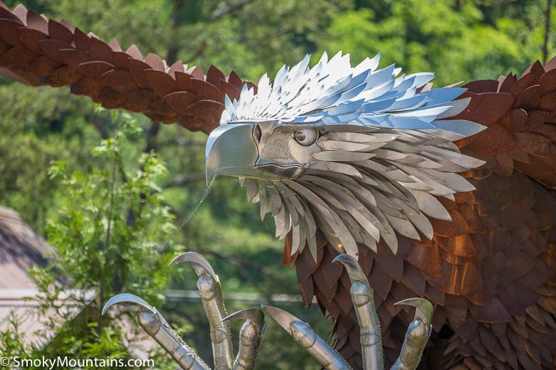 Dollywood Rides - The Wild Eagle - Original Photo