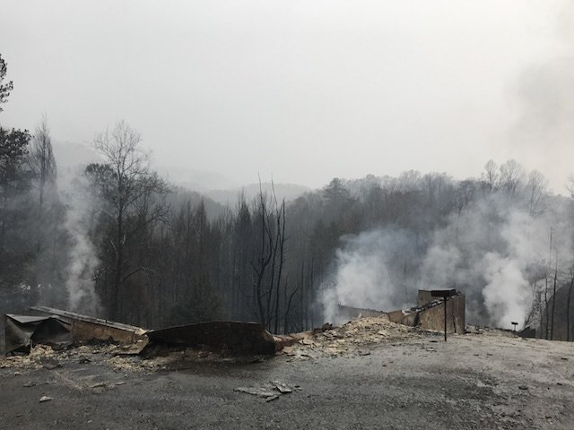 Gatlinburg Wildfire 2016