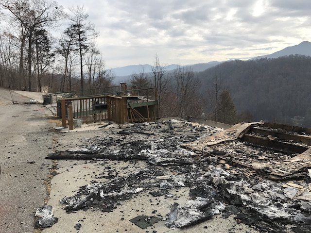 Gatlinburg Wildfire